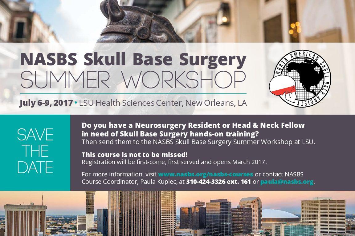 NASBS 2017 Summer Course